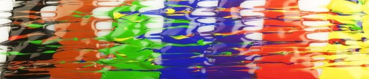 Colora gotas Fotografia de Stock Royalty Free