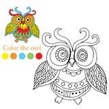 Colora a imagem Imagem de Stock