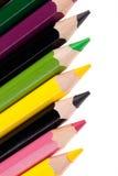 Colora lápis Fotos de Stock