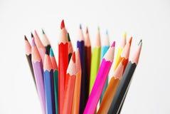 Colora lápis Foto de Stock Royalty Free
