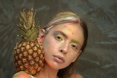 Colora la celebrazione di festival fotografia stock libera da diritti
