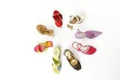 Colora meus pés Imagem de Stock Royalty Free
