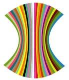 Colora o escudo Imagem de Stock
