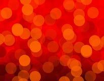 Colora o fundo das luzes vermelho Imagens de Stock