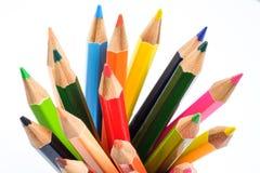 Colora o lápis Fotografia de Stock