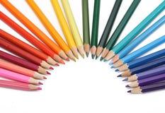 Colora o lápis Imagens de Stock Royalty Free