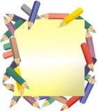 Colora o lápis Imagem de Stock Royalty Free
