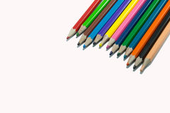 Colora o lápis Foto de Stock Royalty Free