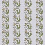 Colora a onda floral do teste padrão Foto de Stock