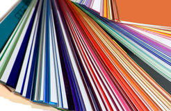 Colora a pálete Imagens de Stock Royalty Free