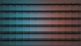 Colora a superfície geométrica poligonal Fundo sem emenda gerado por computador do movimento do sumário do laço para o espaço da  vídeos de arquivo