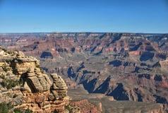 Colorada flod, Grand Canyon, USA fotografering för bildbyråer