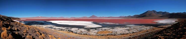 colorada laguna Royaltyfria Bilder
