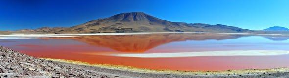 colorada laguna Royaltyfri Foto