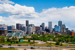 colorado śródmieście Denver Zdjęcie Stock