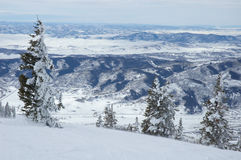 Colorado. Mountains in Steamboat Springs, colorado, Usa Stock Photos