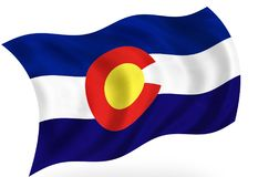 Colorado illustration stock