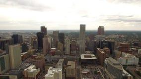 Colorado aéreo Denver vídeos de arquivo