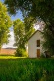 Colorado abandonó la casa de la granja Imagen de archivo libre de regalías