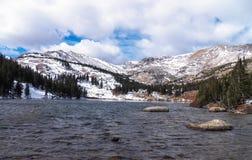Colorado alpin sjö Royaltyfri Foto