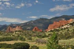 Colorado. On a approach to the Garden of the Gods, Colorado Springs, Colorado Royalty Free Stock Photos