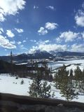 Colorado-Autoreise lizenzfreie stockfotografie