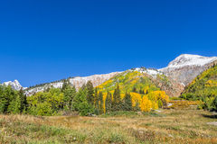 Colorado Autumn Landscape Royalty Free Stock Photos