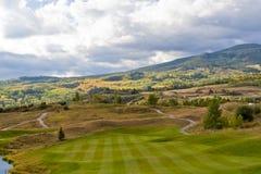 Colorado autumn mountain landscape Royalty Free Stock Images