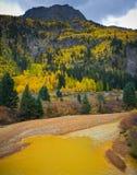 Colorado Autumn Scenic Beauty Stockfotografie