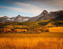 Colorado Autumn Scenic Beauty immagine stock