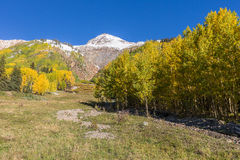 Colorado Autumn Scenic Landscape Royalty Free Stock Image