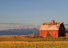 Colorado Barn Royalty Free Stock Photos