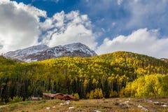 Colorado berg i höst Royaltyfri Bild