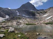 Colorado berg och damm Royaltyfri Bild