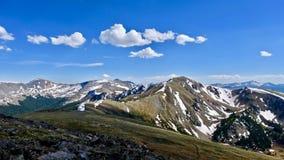 Colorado-Berge vom Pappel-Durchlauf Lizenzfreie Stockfotos