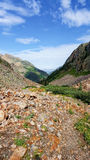 Colorado-Berglandschaft lizenzfreies stockbild