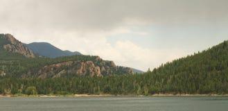 Colorado-Berglandschaft stockfotografie