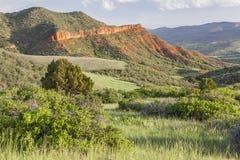 Colorado bergranch arkivbilder