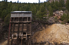 Colorado-Bergwerk Lizenzfreie Stockfotos