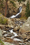 Colorado Boulder Falls October. An October view of Boulder Falls above Boulder Colorado in Boulder Canyon Stock Photography
