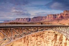 colorado bridżowa rzeka Zdjęcia Royalty Free