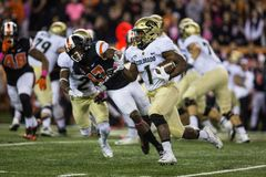 Colorado Buffaloes running back Patrick Carr Stock Photo