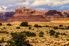 Colorado Butte And Clearing Storm Royalty Free Stock Image