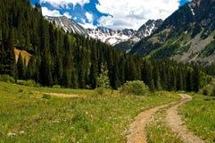 Colorado campo a través Fotos de archivo