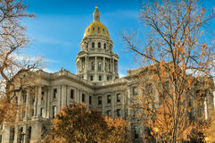 Colorado capital building Royalty Free Stock Photos