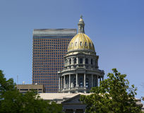 Colorado Capitol Building Dome Stock Photo