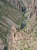 Colorado Chasm Stock Photography