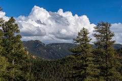Colorado - Cheyenne Canyon Colorado Springs del norte fotos de archivo