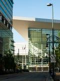 Colorado Convention Center. Denver, Colorado-April 22, 2012: Colorado Convention Center at sunrise Stock Image