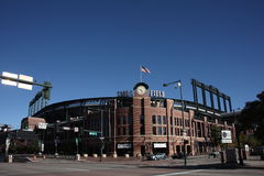 colorado coors field rockies Royaltyfri Bild